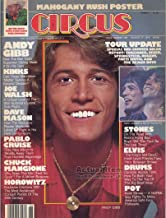 Circus Magazine ANDY GIBB Dave Mason MAHOGANY RUSH Chuck Magione PABLO CRUISE The Kinks MOTT THE HOOPLE August 17, 1978 C
