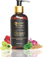 Organic Affaire Keraluscious (Hair Stimulation Oil) Hibiscus, Sesame, Amla And Brahmi, 200 Ml (6.76 Oz)