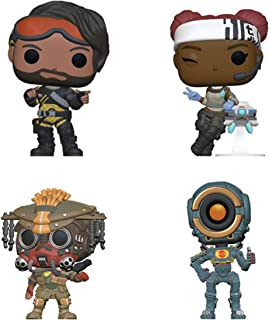 Funko Games: POP! Apex Legends Collectors Set - Mirage, Lifeline, Bloodhound, Pathfinder