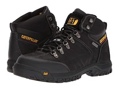Caterpillar Threshold Waterproof Steel Toe (Black) Men