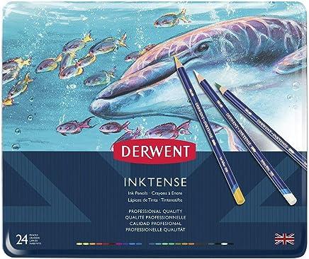 ダーウェント 水彩 色鉛筆 インクテンス ペンシル 24色セット 0700929