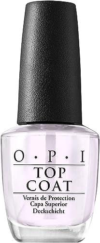 OPI Nail Polish Top Coats, Top Coats for High Shine Gloss Protection or Matte Finish Nails