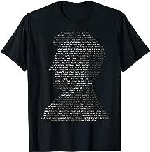 Abraham Lincoln Portrait Gettysburg Address T-Shirt