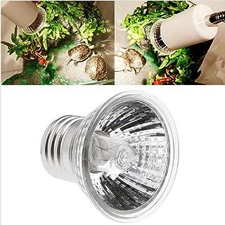 Kocomo Full Spectrum UVA UVB Sunlamp for Reptile Tortoise, 75W Pet Heating Lamp Basking