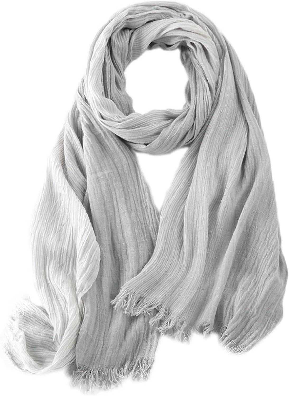 Kalevel Large Scarf Shawl Wrap lightweight Cotton Shawls and Wraps Unisex