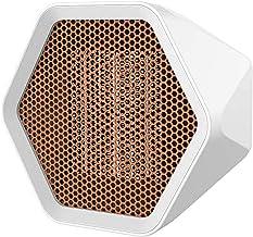 beeyuk Calentador de Espacio, 600W/1000W Mini Calefactor Ventilador, Calefactor Eléctrico Retardante de Llama Seguro de Calentamiento rápido para Cuarto Oficina