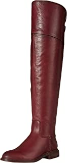 Franco Sarto Women's Haleen Over-the-Knee Boot, Bordeaux, 5.5