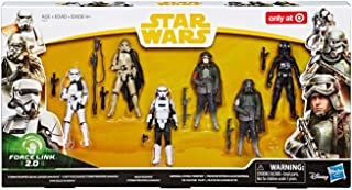 Solo A Star Wars Story Force Link 2.0 Tie Fighter Pilot, Stormtrooper Squad Leader, Han Solo, Mudtrooper, Stormtrooper (Mimban)
