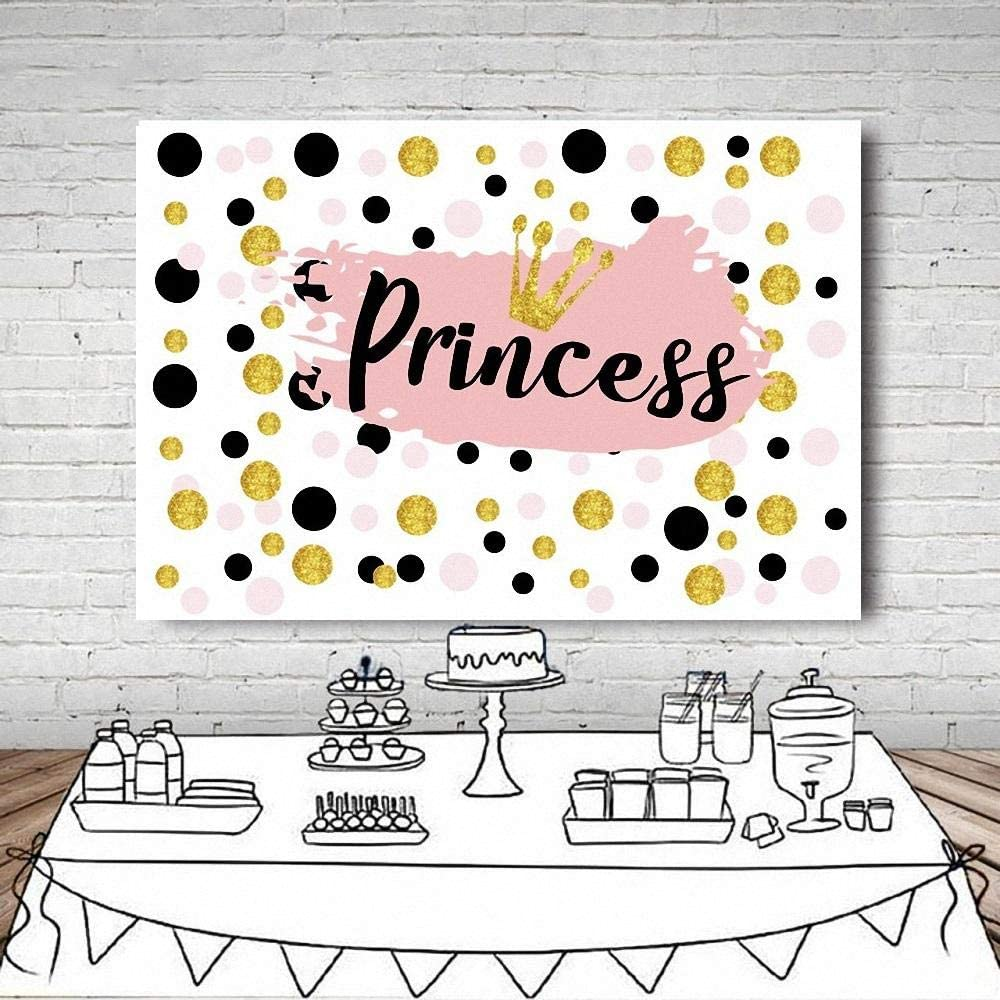 Portrait Photo Backdrop Royal Prince Baby Shower Decorations for Boy Photography Background Cloth Birthday Party Baby Shower Backdrop Background Screen Welcome Little Prince Product Photo Studio Props