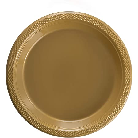 On Sale Southwestern Style Gold and Yellow 7 inch SaladDessert Plate Collectible Home Decor