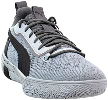 PUMA Mens Legacy Low Basketball Sneakers Shoes Casual - Blue