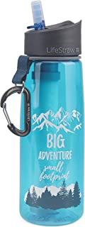 LifeStraw Go Water Filter Bottles with 2-Stage Integrated Filter Straw for Hiking, Backpacking, and Travel