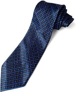 (ステファノリッチ) STEFANO RICCI ネクタイ 高級 ブランド イタリア プリーツタイ 御洒落 メンズ 紳士服 ブルー 9.5cm