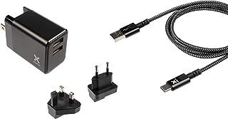 Xtorm XA011 mobile device charger Indoor Black - Xtorm XA011, Indoor, AC, Black