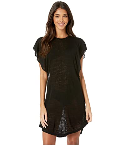 Billabong Out For Waves Dress Cover-Up (Black Pebble) Women