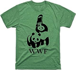 Men's WWF Parody Funny Tshirt
