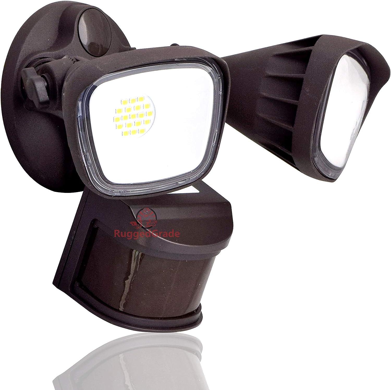 20 Watt Challenge the lowest Translated price of Japan LED Motion Sensor Flood He - Square Light Color Bronze