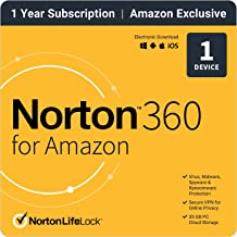$24 » Norton 360 for Amazon 2021 – Antivirus software for 1 Device with Auto Renewal