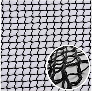 Balcony Netting Clear,Baby Stair Net Balcony Safety Kids Railing Ball Stopping Netting Nylon Backstop Goal Ball Stop Net Nets Golf Course Barrier Replacement Protection Rope Indoor Outdoor Black