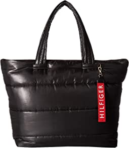 Ames Puffy Solid Nylon Tote