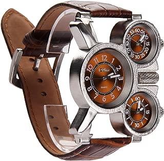 Vococal Reloj Hombre Elegante, 3-MOVT Reloj Hombre de Cuarzo
