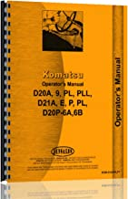 Komatsu D21A Crawler Operators Manual