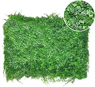YNFNGX Artificial Hedges Expand Home Decor Indoor And Outdoor/Privacy Screening Fence Garden Greenery And Flower Plant Wal...