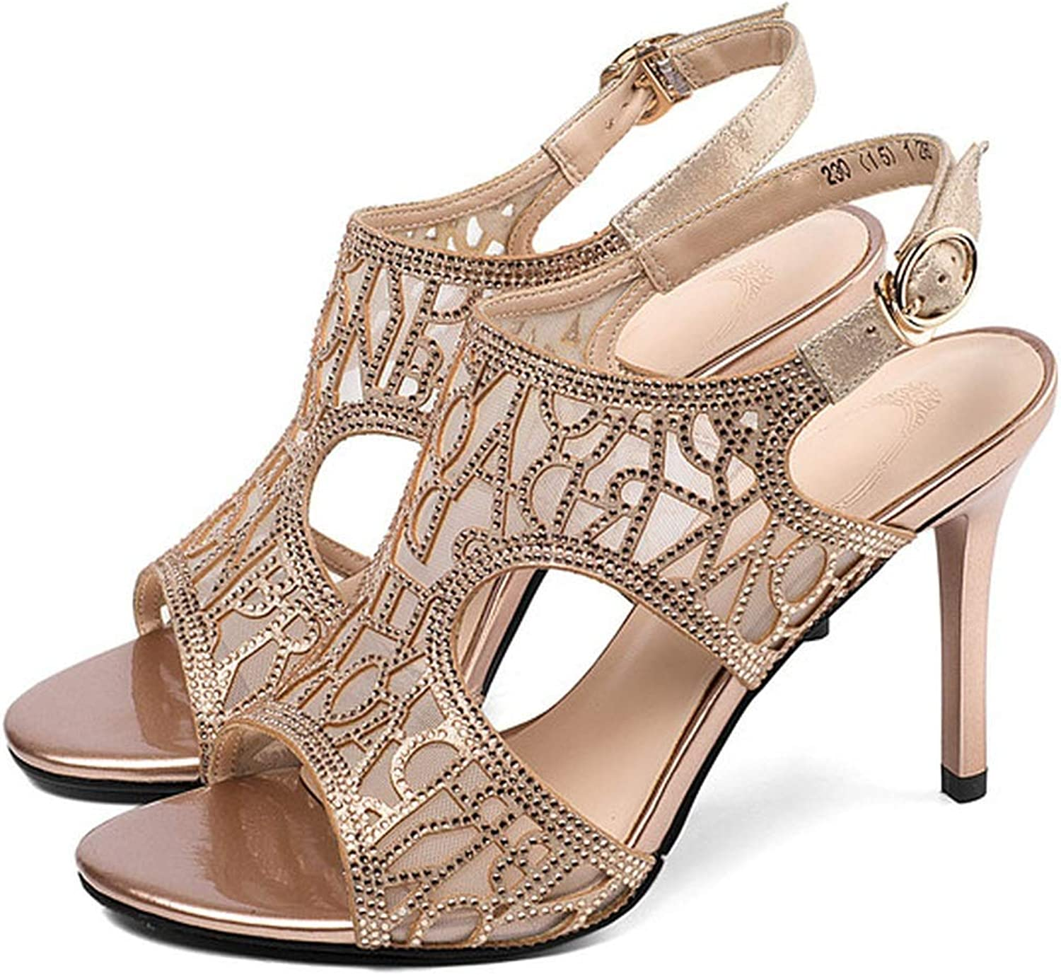 Easy-S-E-H Summer Breathable Mesh Pumps Women Concise High Heels shoes