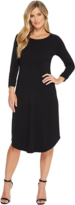 Mod-o-doc Cotton Modal Spandex Jersey Cinch Waist Dress