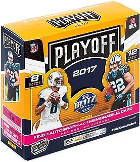 2017 Panini Playoff NFL Football HOBBY box (12 pk)