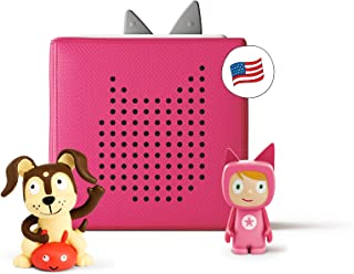 tonies Toniebox Starter Set Pink + Playtime Action Educational Musical Toy for Girls - Imagination-Building, Screen-Free D...