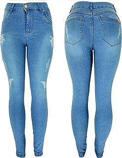 Calça Jeans Feminina Skinny Cós Alto Cintura Alta Hot Pants