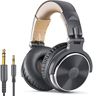 OneOdio Adapter-Free Closed Back Over-Ear DJ Stereo Monitor Headphones, Professional Studio Monitor & Mixing, Telescopic A...