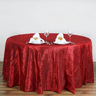 pintuck table linens