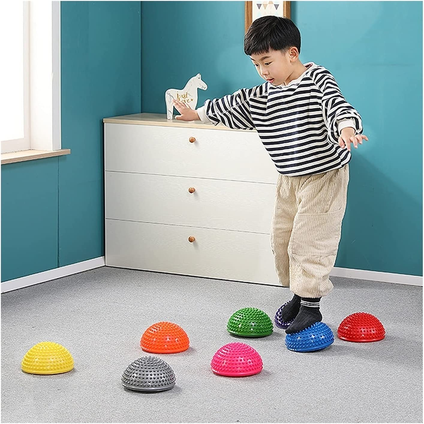 Balance Cheap mail order specialty store Stepping Stones for Kids Very popular Style Hedgehog Pods- H