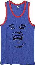 Arnold Face - Movie Star Funny Scream Unisex 2-Tone Tank Top