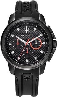 Orologio da uomo, Collezione SFIDA, in acciaio, PVD nero, silicone - R8851123007