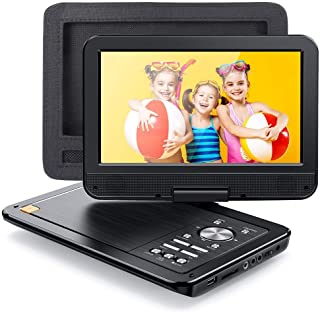 "APEMAN 2021 Upgrade 12.5"" Portable DVD Player with 10.5"" HD Swivel Screen, 6 Hour Rechargeable Battery for Car/Kids, Car H..."