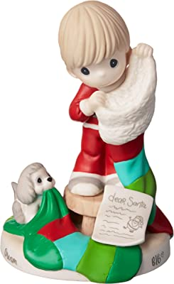 Precious Moments Dream Big Bisque Porcelain Boy 191029 Figurine, One Size, Multi