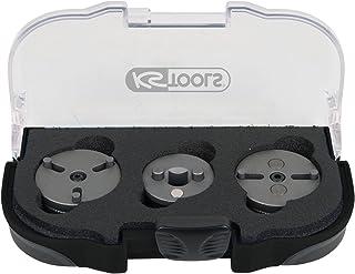 KS Tools 150.2295 Bremskolben Adapter Satz, 3 TLG