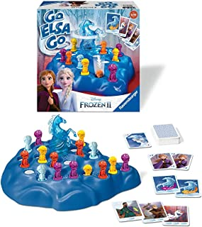 Ravensburger Disney Frozen 2 Go Elsa Go Game For Kids Age 4 Years and Up - Quick Play Fun Family Games