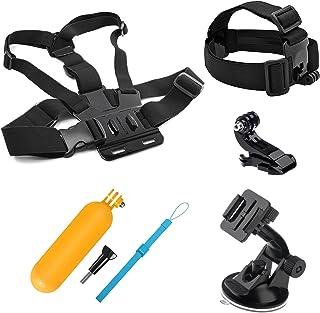 SHOOT Acción Kit de Accesorios de cámara para Gopro Hero 8 7 6 5 4 3+ 3 AKASO EK7000 Apeman SJ4000 5000 6000 DBPOWER AKASO VicTsing WiMiUS Rollei y Sony Deporte Dv y más