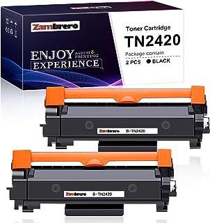 Zambrero TN-2420 TN2420 Cartucho Tóner Compatible para Brother MFC-L2710DN MFC-L2710DW MFC-L2730DW MFC-L2750DW DCP-L2550DN...