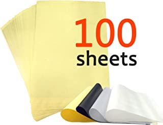 Y-NOT 100 pcs 4 Sheets Thermal Stencil Tattoo Transfer Paper 8.5 inches x 11 inches
