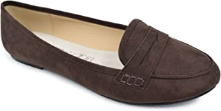 Best chocolate brown loafers women's Reviews