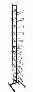 black floor standing hat rack tower