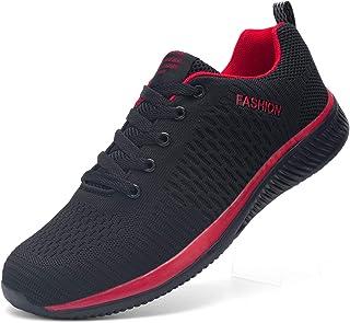 Kefuwu Scarpe da Corsa Uomo Donna Ginnastica Casual Jogging Trekking Tennis Sport Outdoor Fitness Sportive Respirabile Mes...