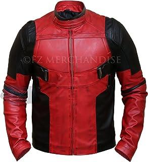 3f0f91366a11b Men s Deadpool Wade Wilson Ryan Reynolds Synthetic Leather Jacket