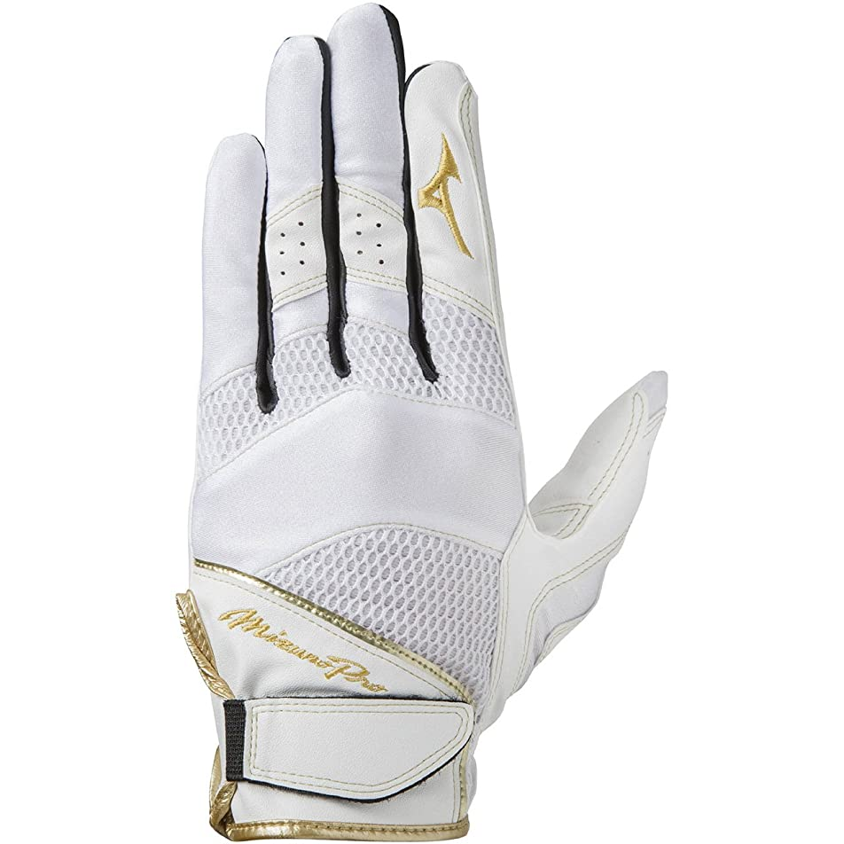 愛情ラッカスリマークミズノ(MIZUNO) ミズノプロ MP守備手袋(左手用) 1EJED210