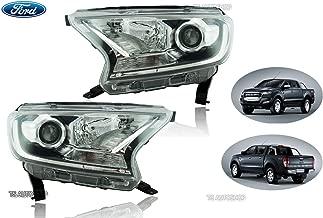 Powerwarauto Set Head Lamp Projector Light Genuine For Ford Ranger Raptor Mk2 Facelift Wildtrak 4WD 2WD 4x4 4x2 Pick-Up UTE 2016 2017 2018